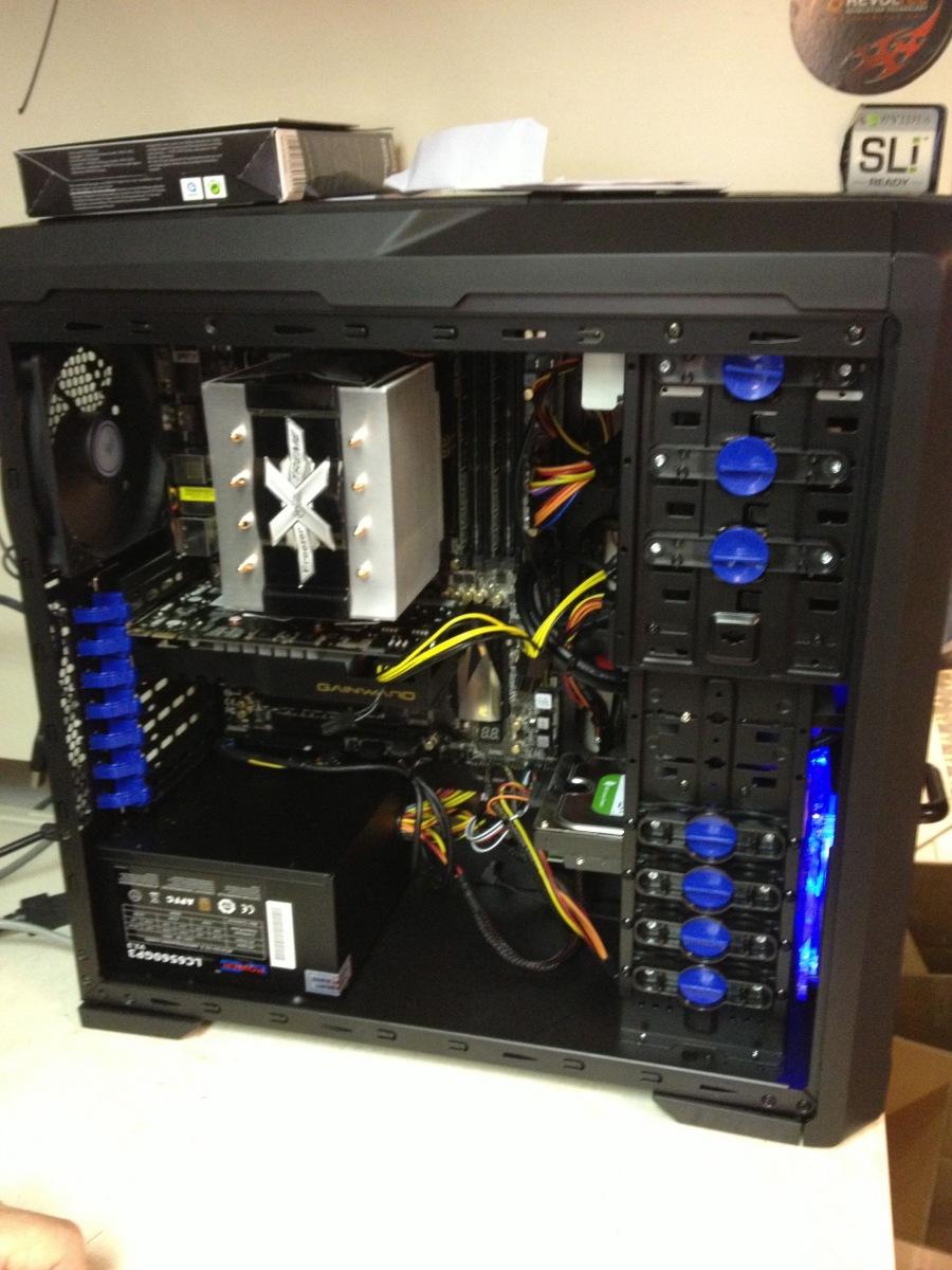 Ein selbst assemblierter PC für Gamet