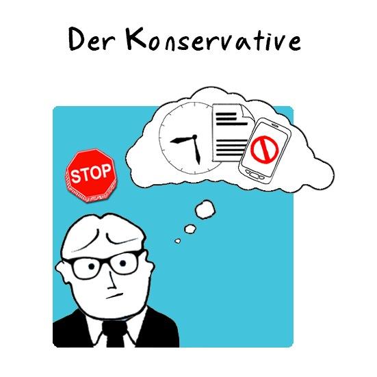 Der Konservative: Seine Berufserfahrung reicht zurück bis in die Ära der Großrechner und der Client-Server-Epoche.