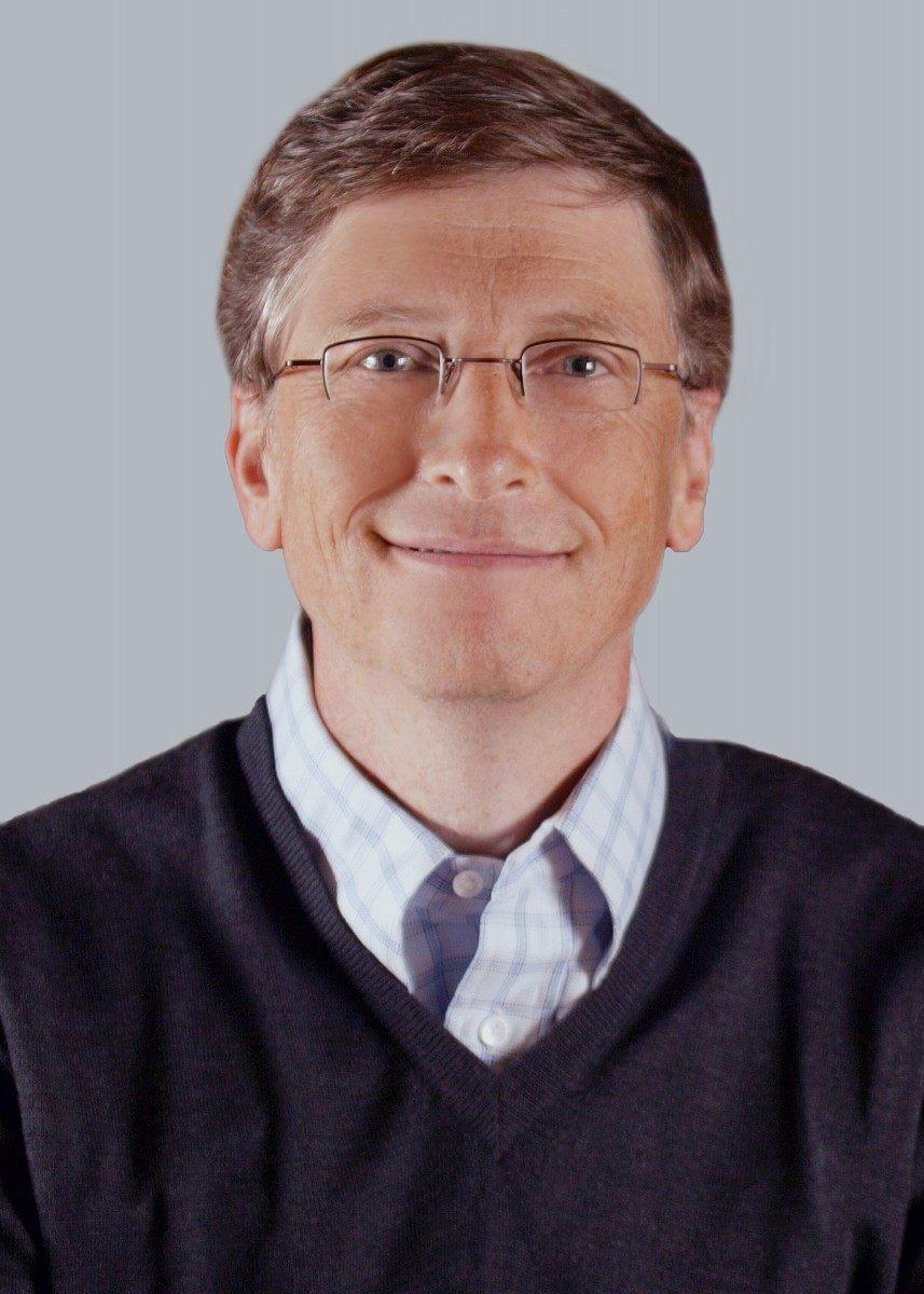Die bekannteste Persönlichkeit der digitalen Welt ist Microsoft-Gründer Bill Gates. 88 Prozent aller Bundesbürger kennen ihn (Foto: Microsoft)