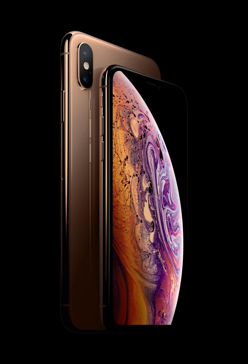 Bei den teureren Modellen gibt es das erneuerte iPhone Xs und die größere Version Xs Max mit einem 6,5-Zoll-Display