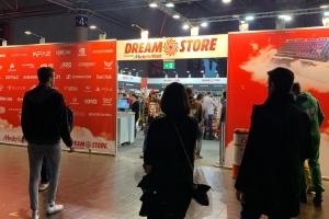 Dreamstore auf der DreamHack