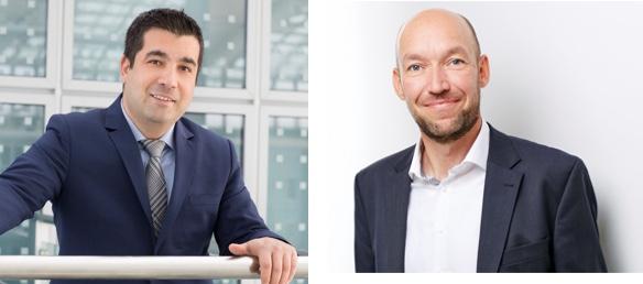 Christoph Spahn von Also mit Özcan Karadogan