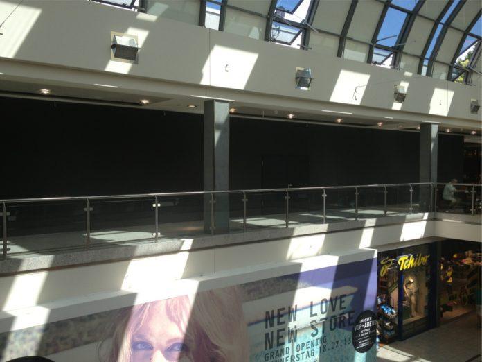 Baustelle im OEZ: Vermutlich Standort des neuen Apple-Standorts (Foto:ChannelObserver)