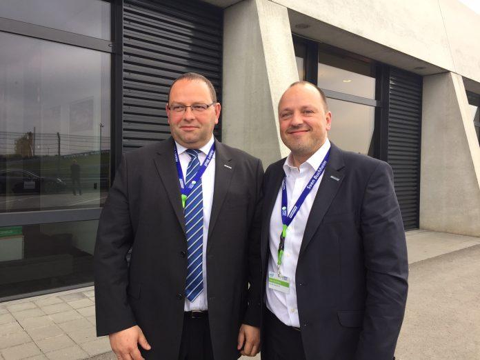Die Bluechip-Vorstände Hubert Wolf (links) und Sven Buchheim