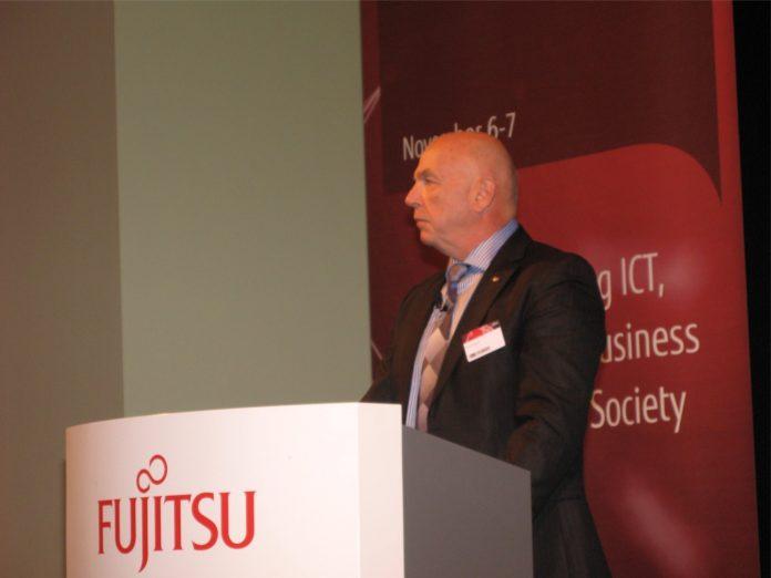 FTS-Chef Rod Vawdrey auf dem Forum 2013