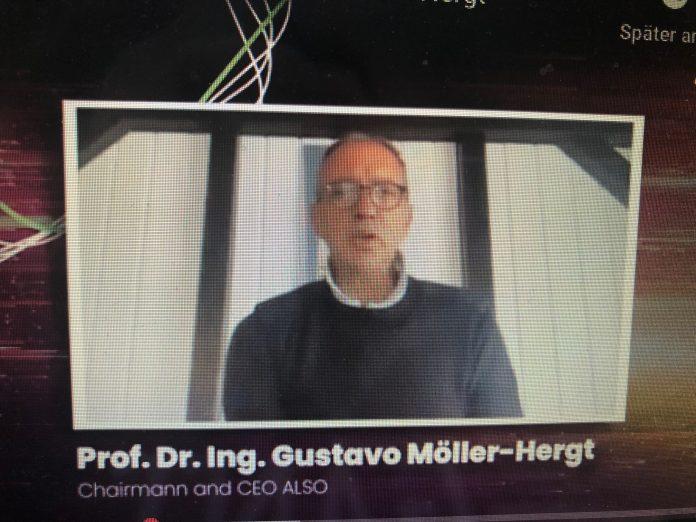 Gustavo Möller-Hergt mit virtueller Keynote
