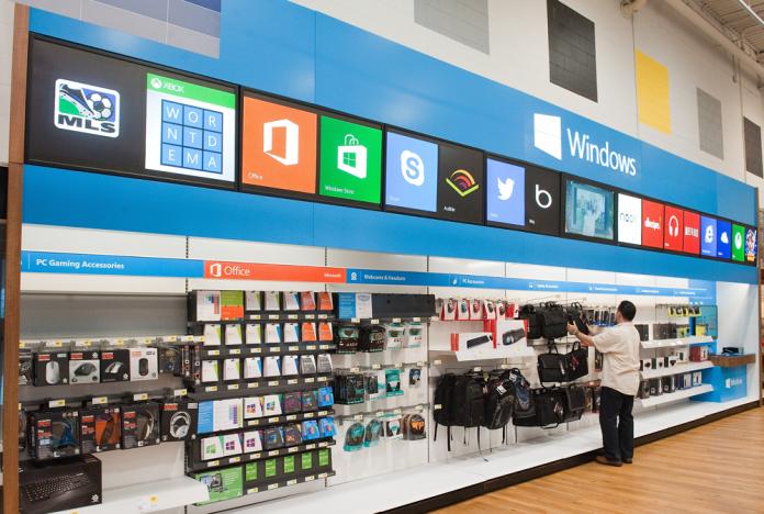Microsoft schließt seine Läden