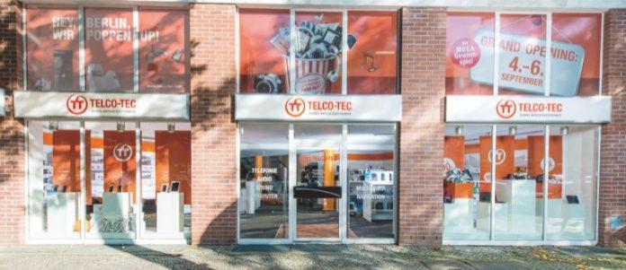 Der erste Store von Telco-Tec in der Rheinstraße 44 in Berlin