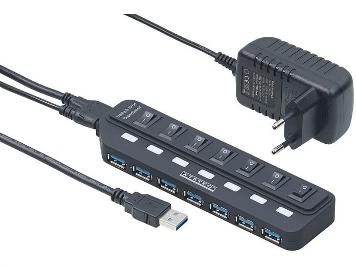 Pearl Xystec USB-3.0-Hub