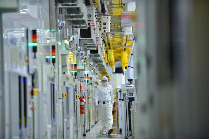 Intel-Produktion