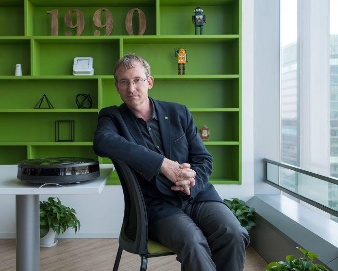 iRobot-Chef Colin Angle